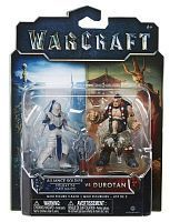 Набор фигурок Warcraft. Durotan & Alliance Soldier. 2 в 1 (7 см)