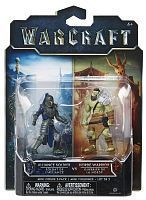 Набор фигурок Warcraft. Horde Warrior & Alliance Soldier. 2 в 1 (7 см)